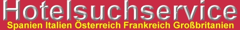 Hotelssuchservice - Hotelangebote in aller Welt